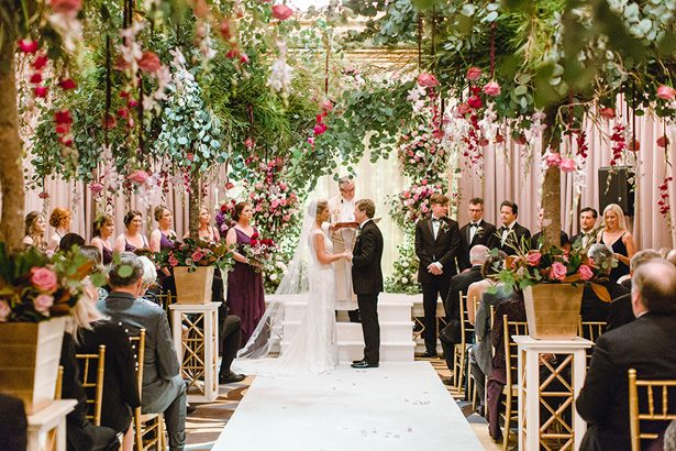 A Luxury Wedding Filled with Whimsical and Romantic Florals