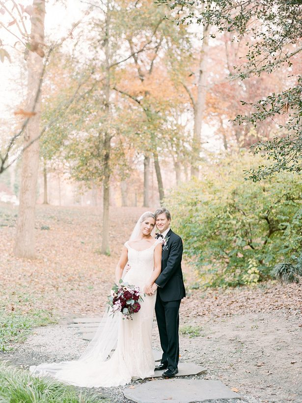 Romantic wedding photo - Melissa Schollaert Photography