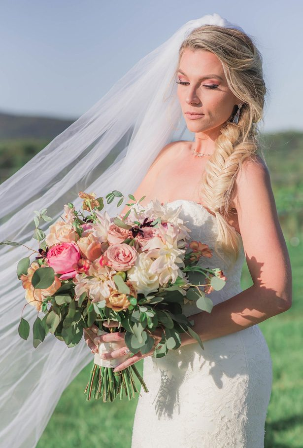 Rustic Wedding Bouquet - Emily Richardson Photography