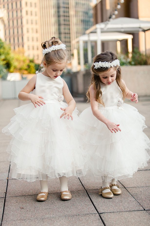 Wedding Flower girl dresses - Melissa Schollaert Photography