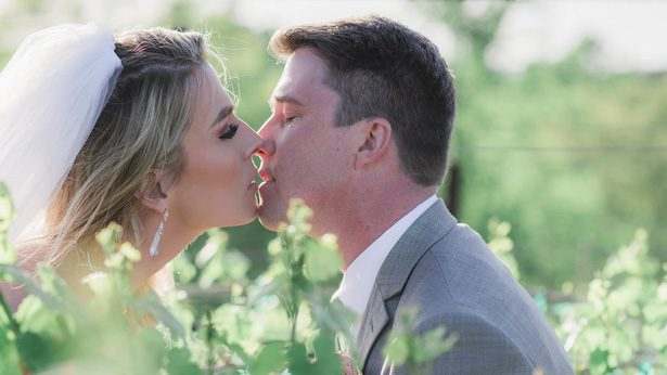 Wedding Kiss - Emily Richardson Photography