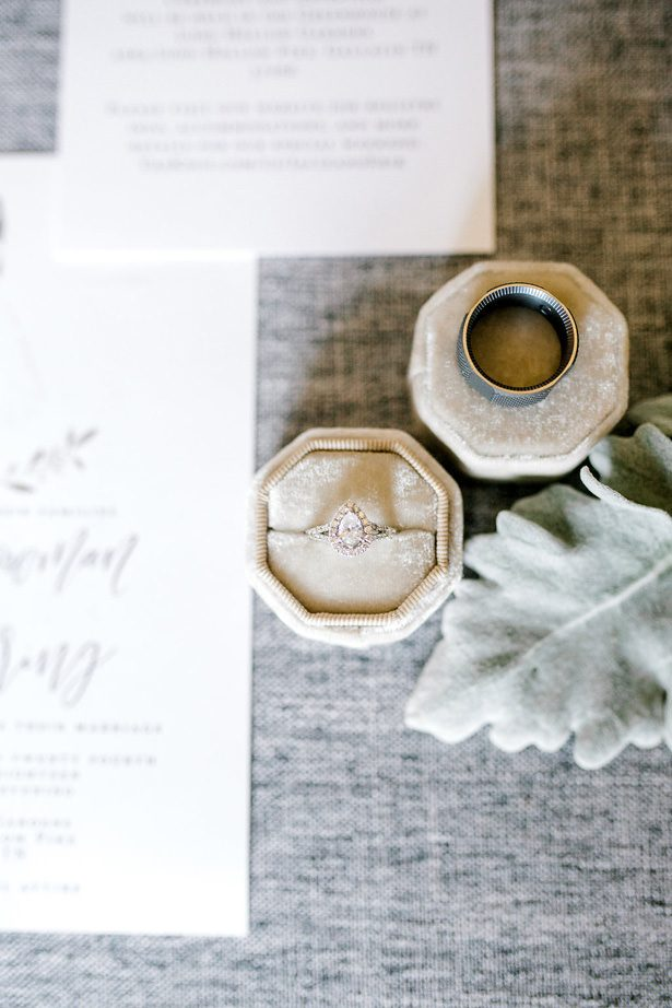 Wedding Ring - Honey + Bee Photography