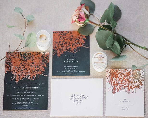 Wedding invitation suite - Emily Richardson Photography