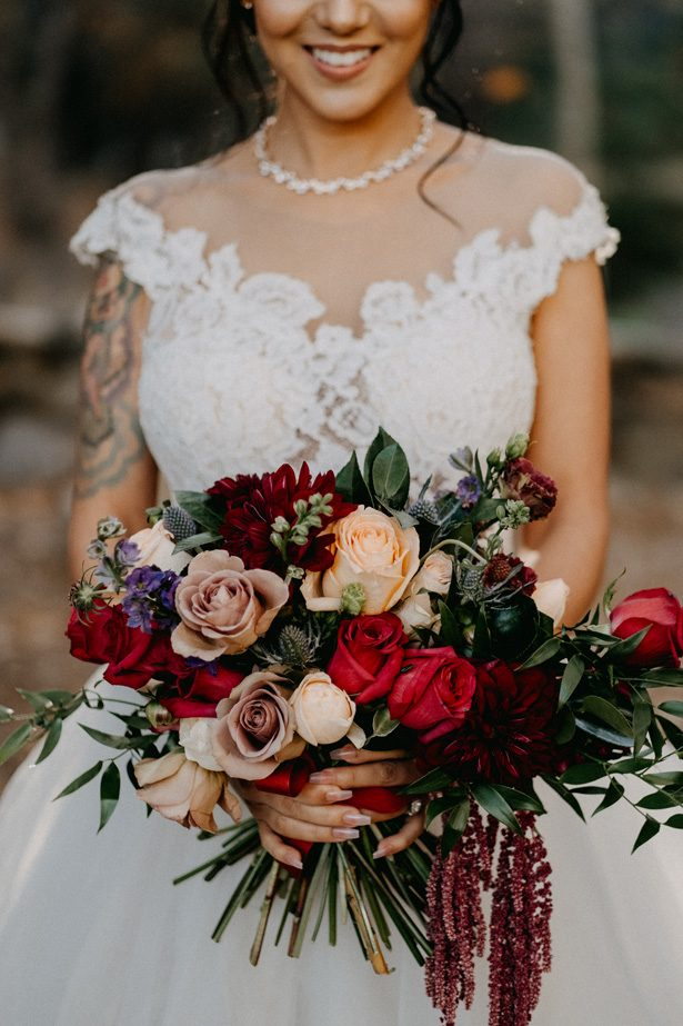 Winter Wedding Bouquet - Quattro Studios