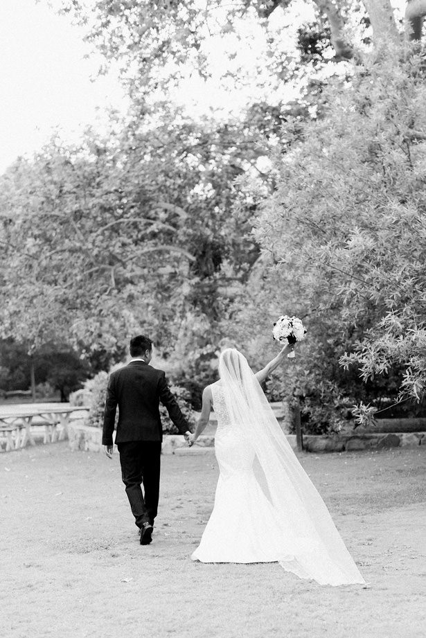 black and white wedding photo - XO and Fetti Photography