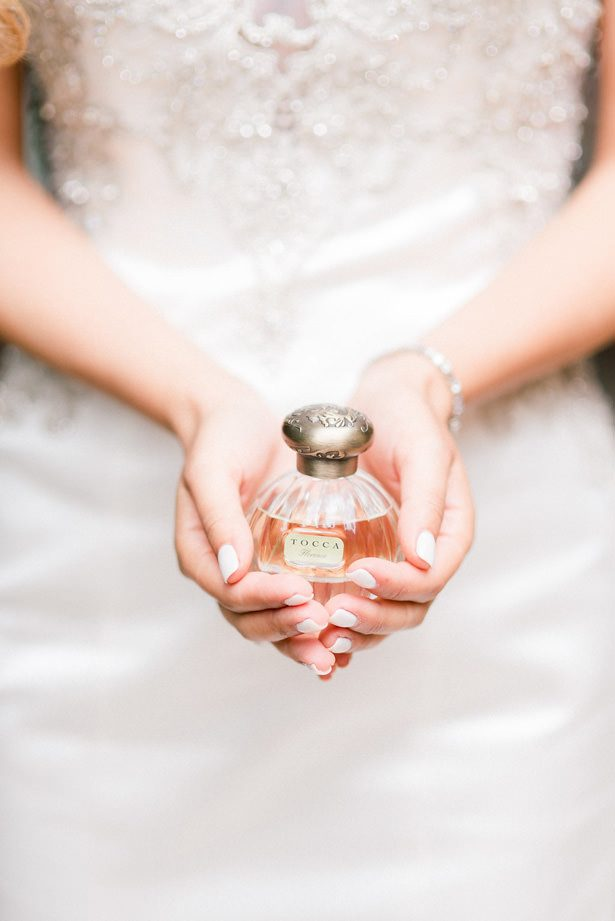 bride perfume - XO and Fetti Photography