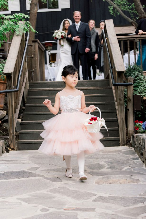 cute flower girl - XO and Fetti Photography