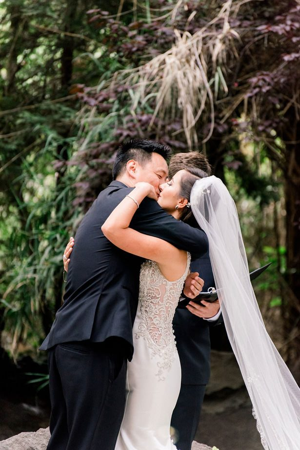 gorgeous wedding kiss - XO and Fetti Photography