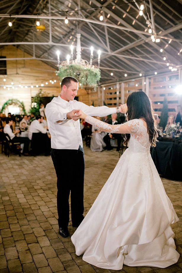greenhouse wedding reception dance - Honey + Bee Photography