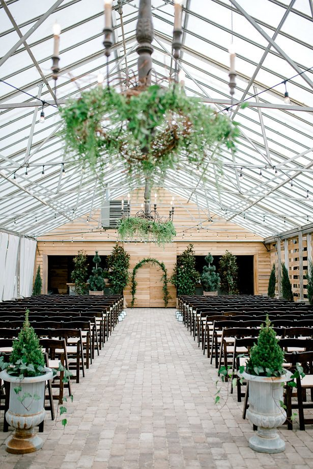 greenhouse wedding venue - Honey + Bee Photography