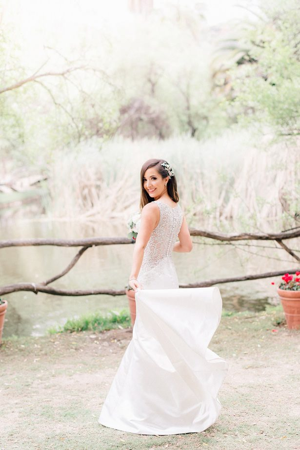 lace back wedding dress - XO and Fetti Photography