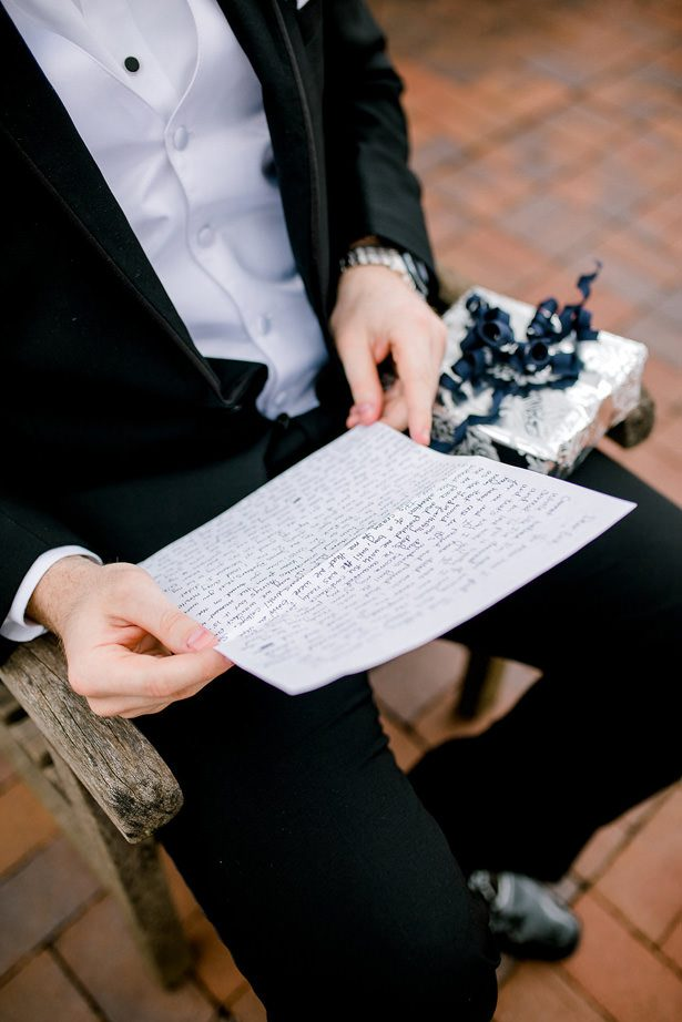 letter from the groom - Honey + Bee Photography