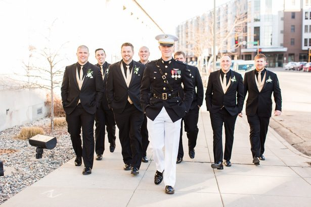 military groomsmen - Abby Anderson