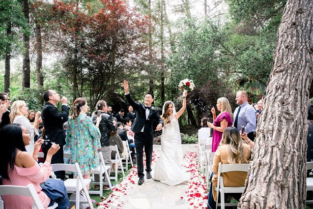 outdoor wedding ceremony photo - XO and Fetti Photography