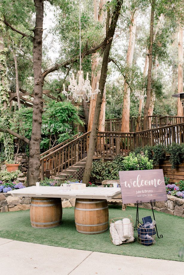 outdoor wedding sign - XO and Fetti Photography