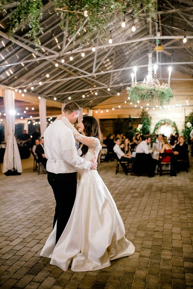 romantic wedding dance photo - Honey + Bee Photography