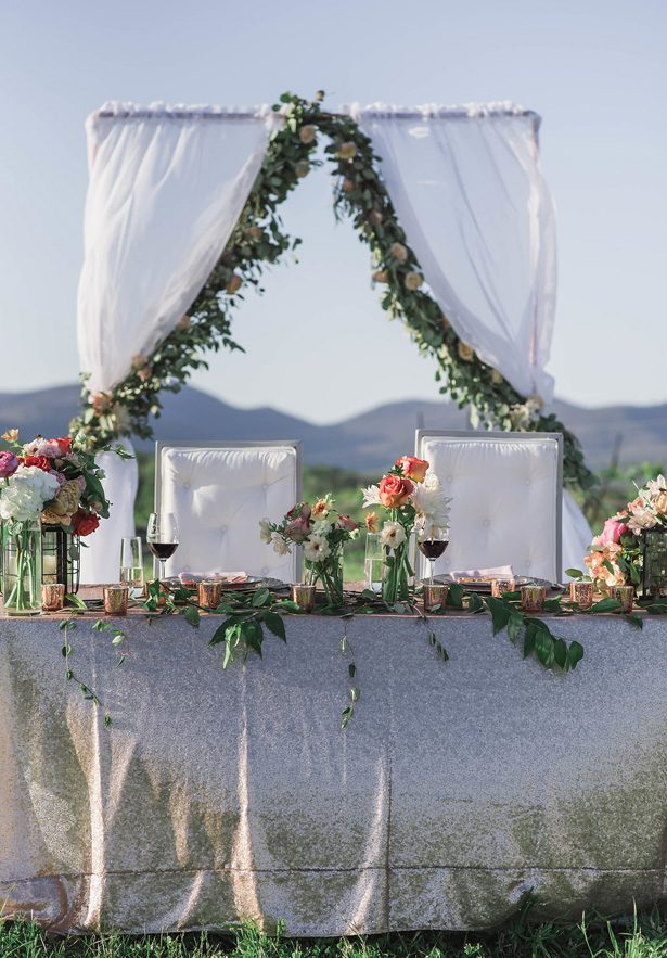 vineyard wedding tablescape details - Emily Richardson Photography