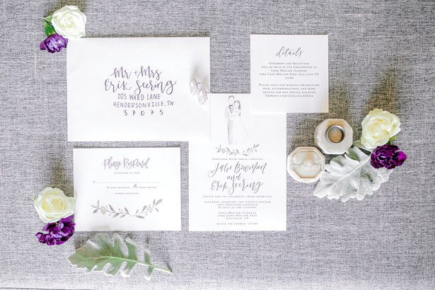 wedding invitation - Honey + Bee Photography