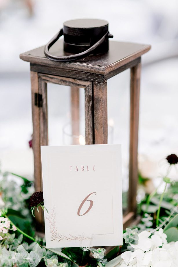 wedding table numbers - XO and Fetti Photography