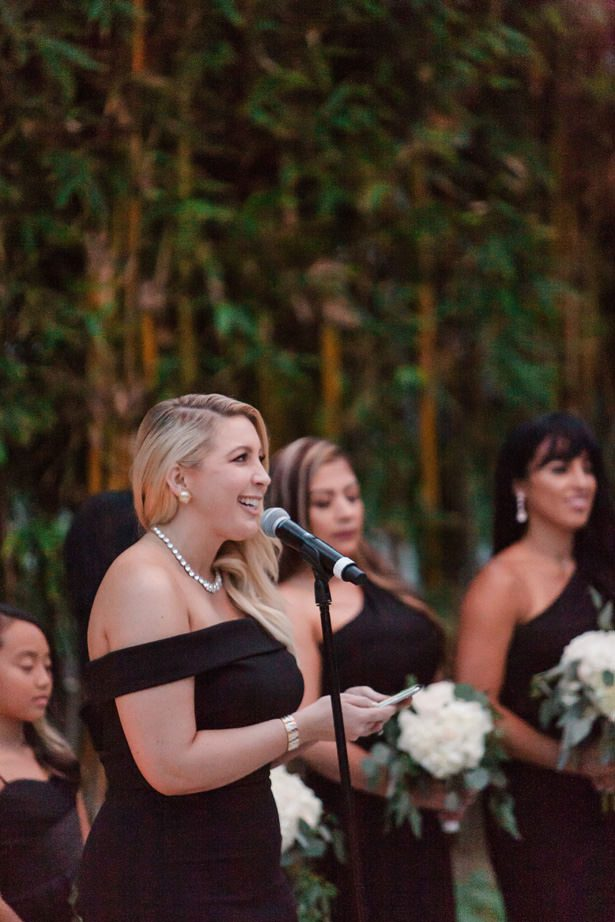 Bridesmaid black dress - Nichanh Nicole Photos