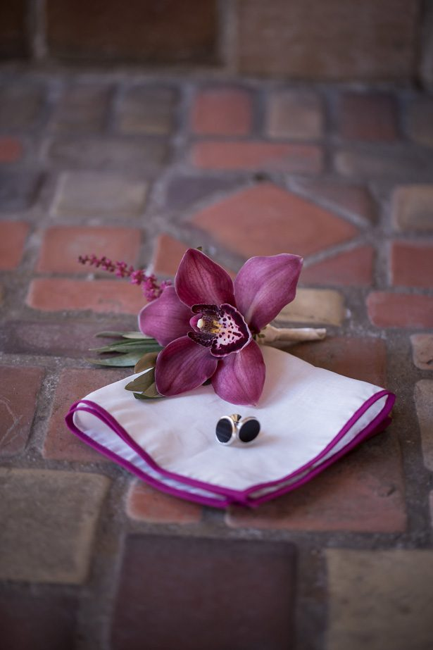 Burgundy wedding boutonniere- Cat Pennenga Photography