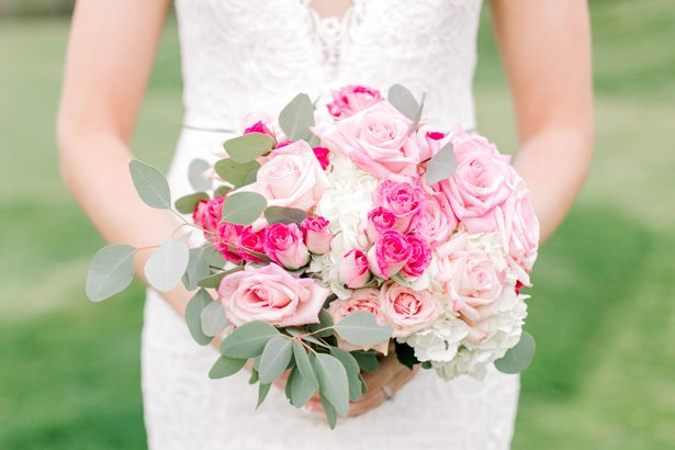 Classic and Romantic Wedding Filled with Pink Florals