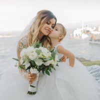 Cute flower girl and bride - NST Pictures