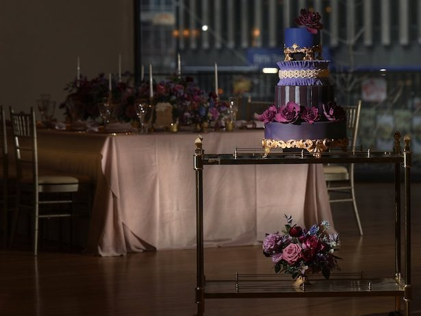 Elegant Purple Wedding Inspiration with a Regal Touch