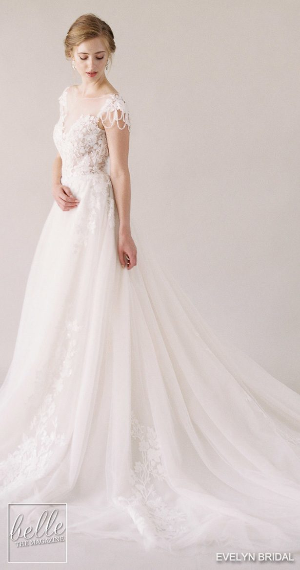 Evelyn Bridal Wedding Dresses 2019 Spring Bridal Collection