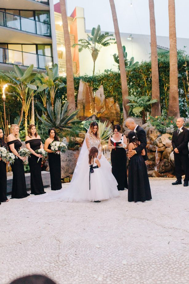 Flower girls wedding ceremony - Nichanh Nicole Photos