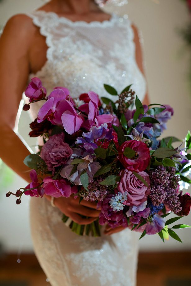 Elegant Purple Wedding Inspiration