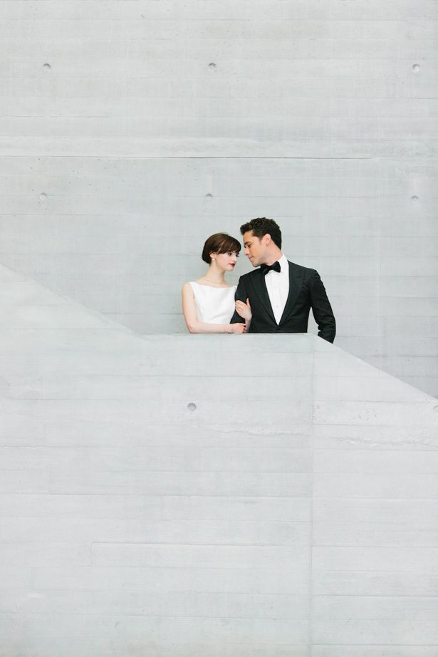 Romantic wedding photo - Photography: Kate Osborne