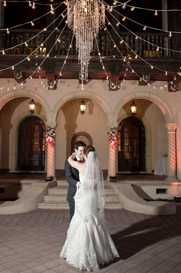 Romantic wedding photo of first dance- Cat Pennenga Photography