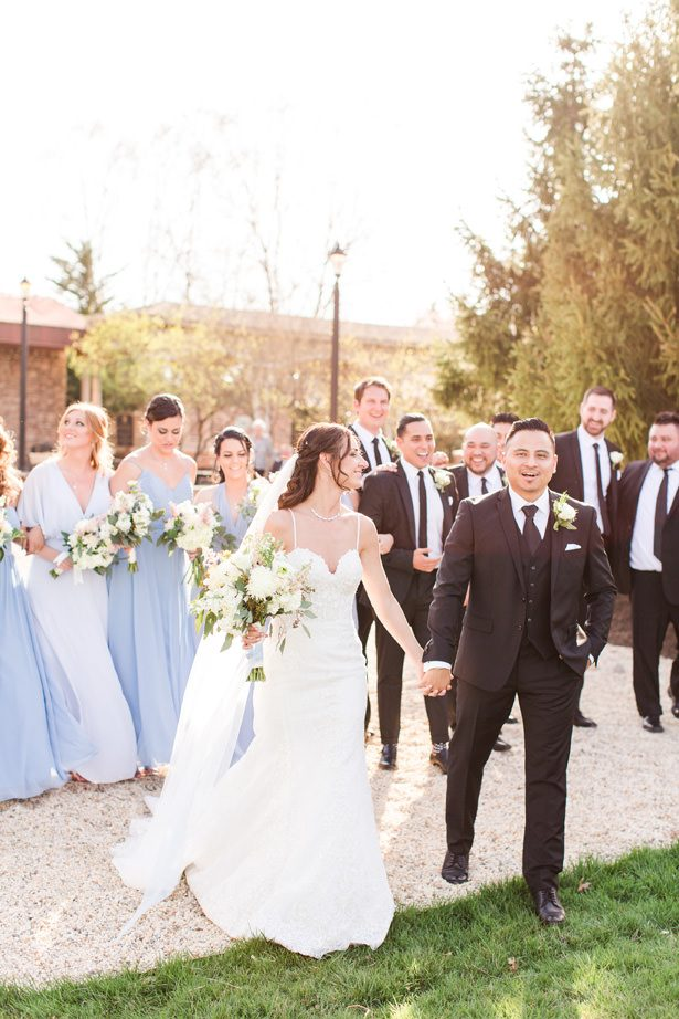 Spring wedding party photo - Bethanne Arthur Photography