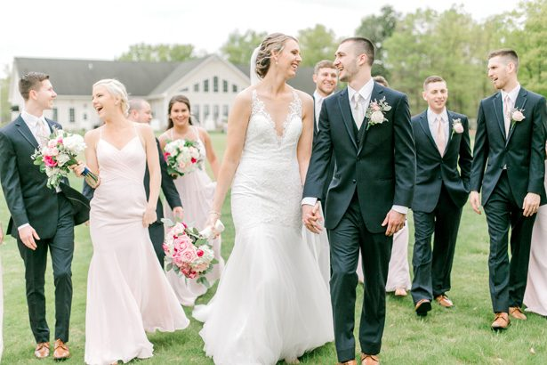 Classic and Romantic Wedding Filled with Pink Florals - Photography: Lauren Westra