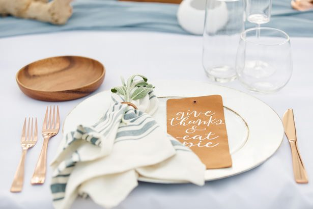 Wedding place setting - Unique Ways to Incorporate Calligraphy Into Your Wedding - Katelin Wallace Photography