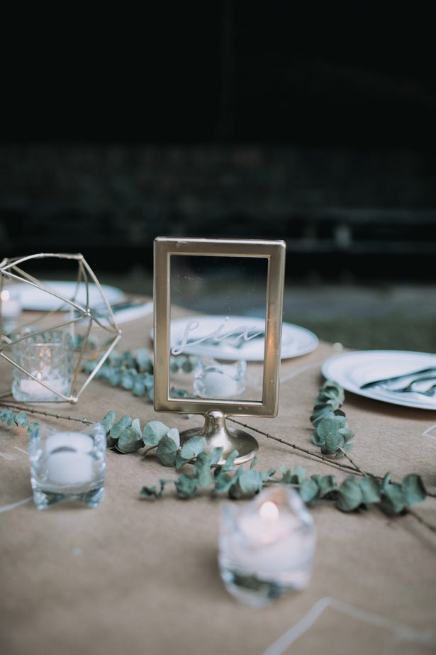 Wedding table number - Kendra Harper Photography