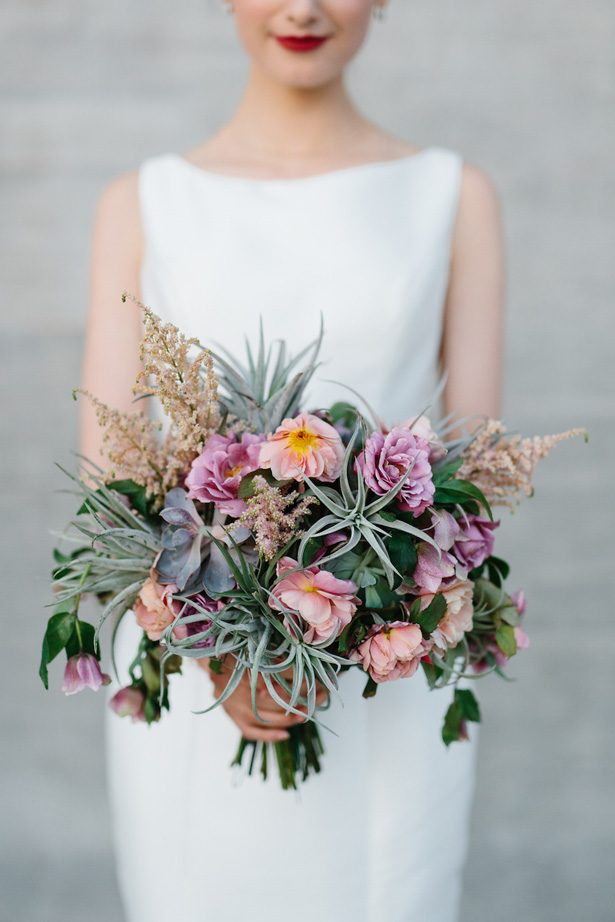 Boho Meets Contemporary Wedding