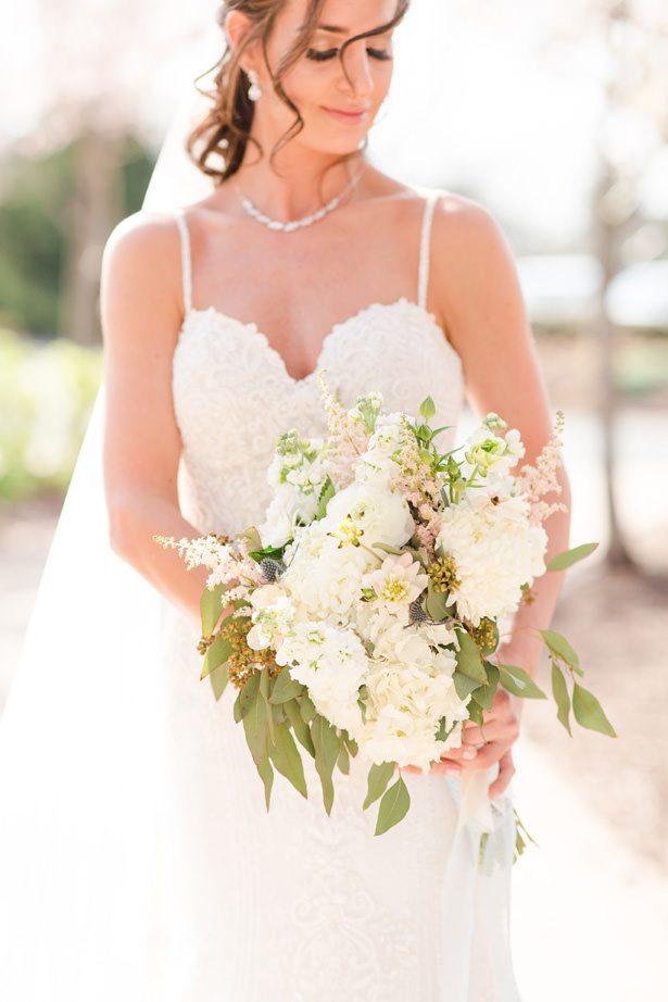 classic wedding bouquet - Bethanne Arthur Photography