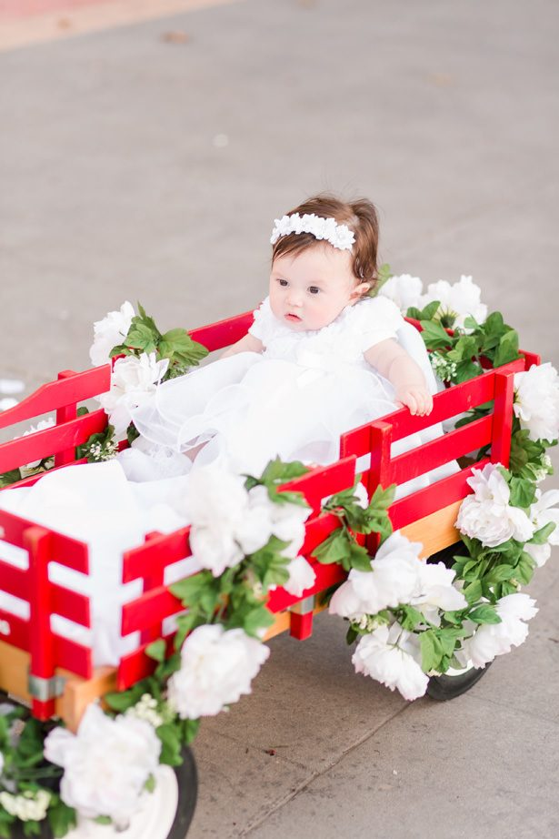 cute wedding flower girl - Bethanne Arthur Photography