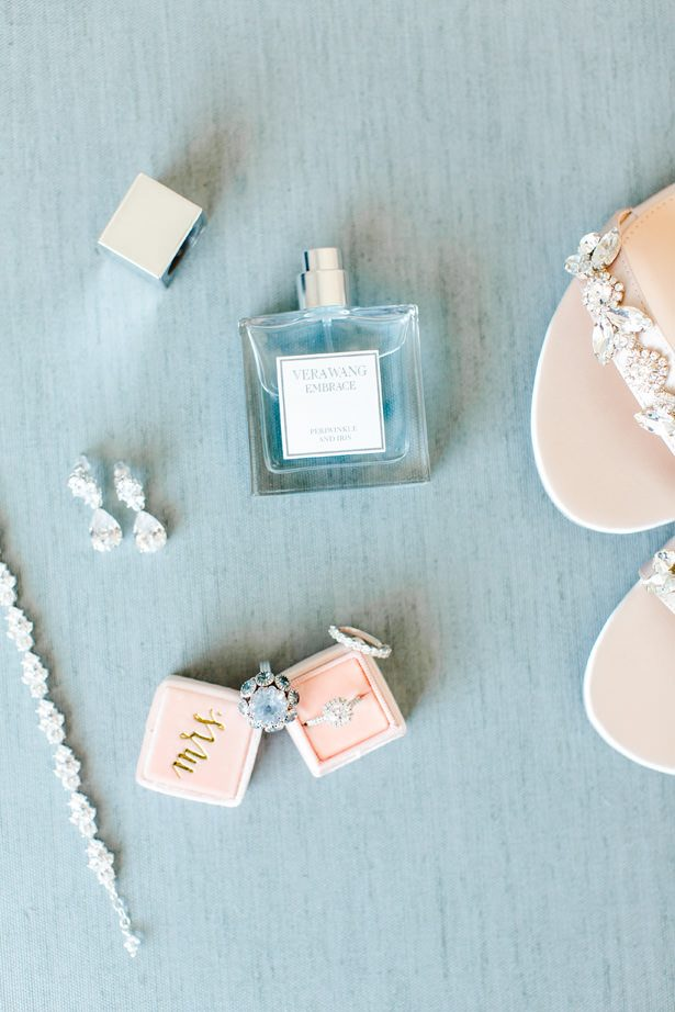 dusty blue wedding inspiration - Bethanne Arthur Photography