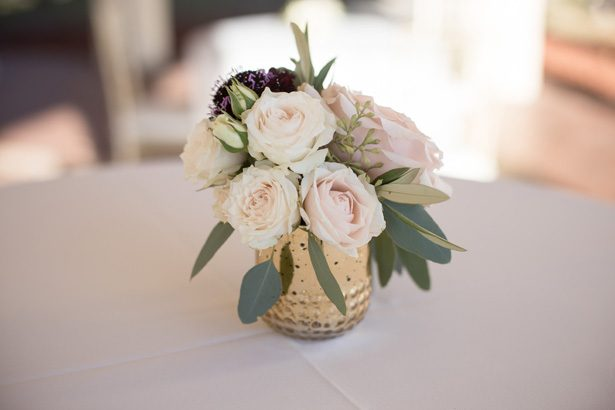 low wedding centerpiece- Cat Pennenga Photography