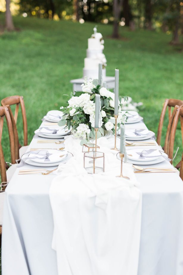 vineyard inspired wedding tablescape - Sarah Sunstrom Photography