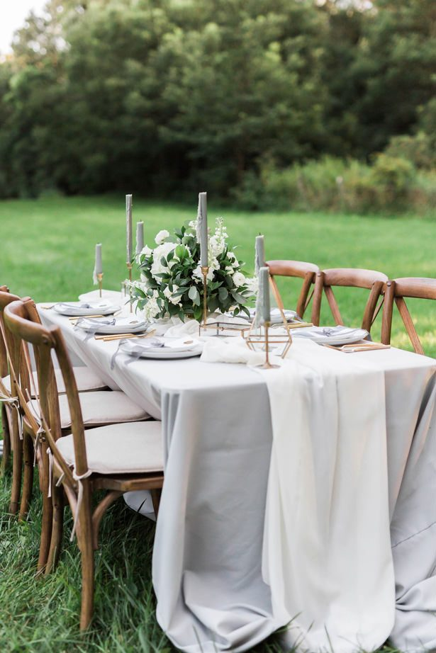 vineyard wedding tablescape - Sarah Sunstrom Photography