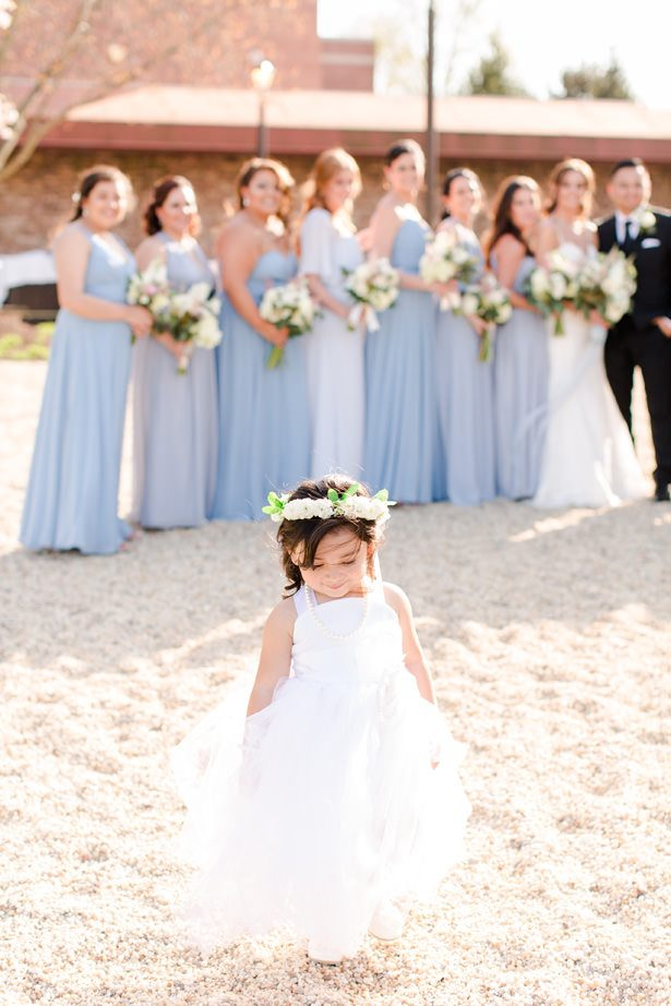 wedding Flower girl photo - Bethanne Arthur Photography
