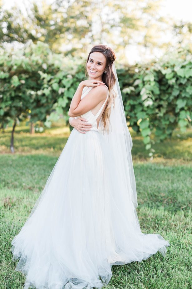 wedding ballgown - Sarah Sunstrom Photography