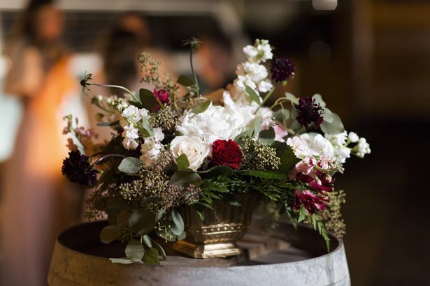 Short wedding centerpiece - Aislinn Kate Photography