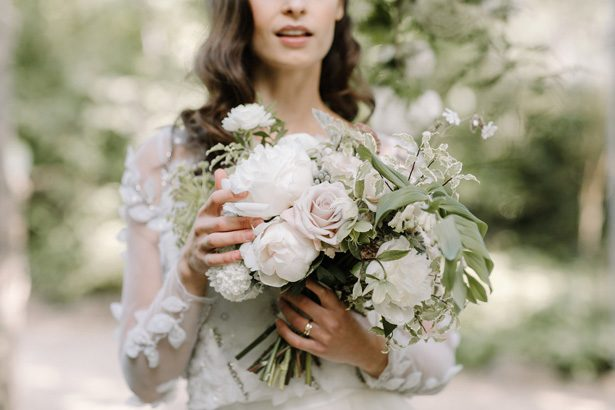 Wild pastel wedding bouquet- Rebecca Goddar Photography