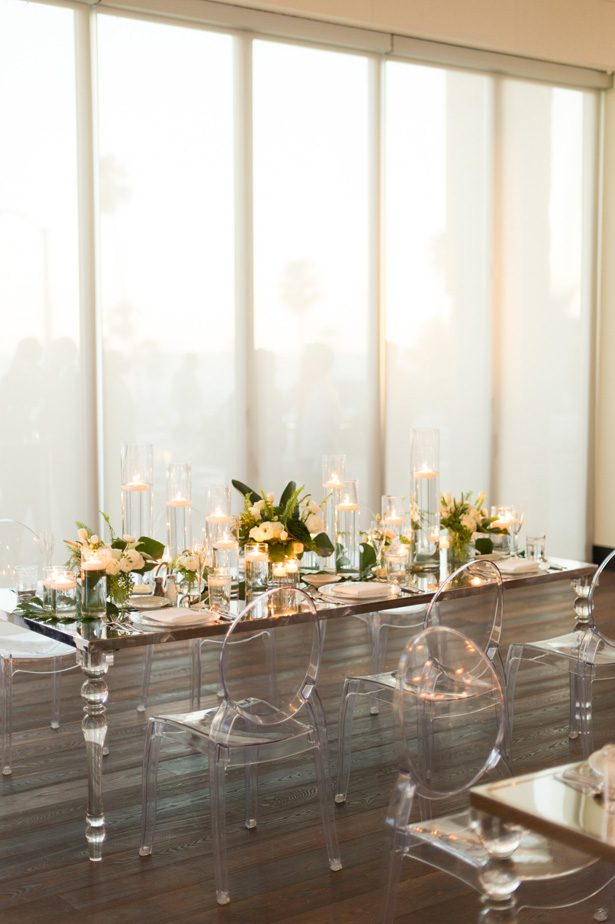 acrylic wedding table - Studio EMP
