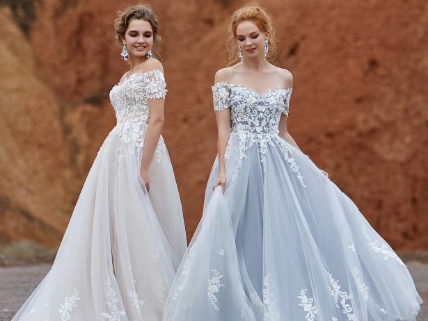 Colored wedding dresses by CocoMelody